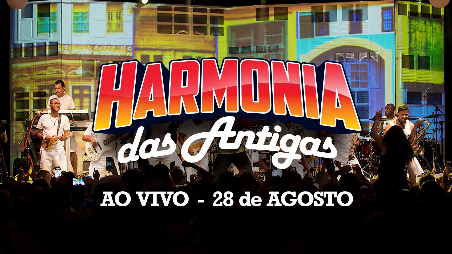 DVD HARMONIA DAS ANTIGAS AO VIVO EM SALVADOR
