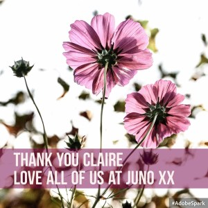 thank you claire