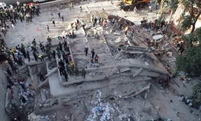Un tremblement de terre de magnitude 7,1 a secoué mardi la capitale mexicaine 33