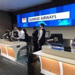 Vol inaugural réussi du Boeing 737 de la Sunrise Airways 30
