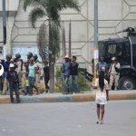 FLASH : Nouvelle manifestation de l'opposition à Port-au-Prince. 34