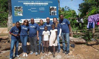 La Fondation Dr Louis G. Lamothe inaugure la première phase du projet de réhabilitation des maisons détruites à Anse du Clerc 31