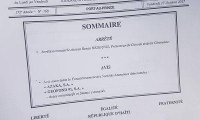 """Karavan Chanjman"" Le président de la BID soutien Jovenel Moïse 29"