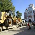 Jovenel Moïse a distribué des équipements dans le nord-ouest pour les infrastructures routières 29