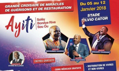 In Haïti, le mouvement de réveil spirituel du début de l'année 31