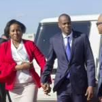 Le Président Jovenel Moïse de retour au pays après sa tournée italienne 28