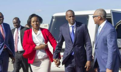 Le Président Jovenel Moïse de retour au pays après sa tournée italienne 32