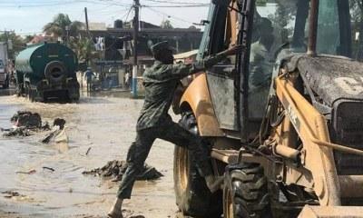 Haïti : Inondations à Port-de-Paix, les militaires du CORGE sont à pied d'œuvre 34