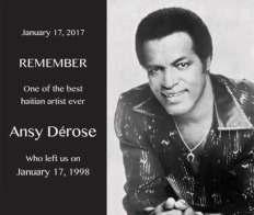 17 Janvier 1998 : Décès du chanteur Haïtien Ansy Dérose 31