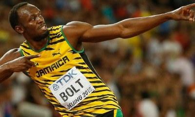 Usain Bolt au Borussia Dortmund en mars 28