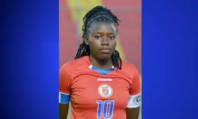 En marquant un triplé, Nerilia Mondésir a sauvé Haïti 44
