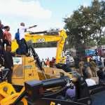 Distribution de matériels à Hinche dans le cadre de la Caravane du Changement 30