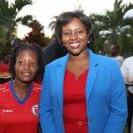 La Première Dame reçoit la sélection nationale féminine U20 34