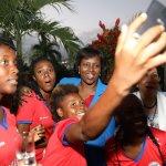La Première Dame reçoit la sélection nationale féminine U20 39