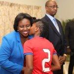 La Première Dame reçoit la sélection nationale féminine U20 30