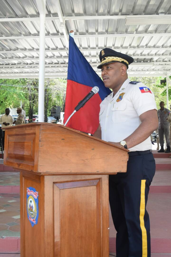 Haïti / Sécurité : 106 policiers 99 hommes dont 7 femmes viennent de renforcer les rangs du CIMO 40