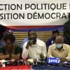 En prélude au 17 octobre, l'opposition présente sa direction politique