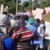 Lapolis kraze mobilizasyon medsen yo ak gaz lakrimojèn sou Lali