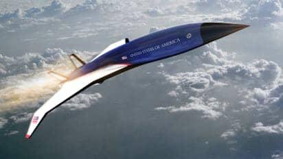 L'avion du président américain, Air force One, pourrait devenir supersonique en 2025