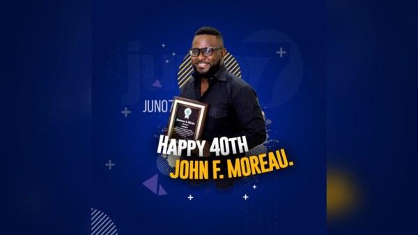11 septembre : anniversaire de naissance de John Fritz Moreau, PDG de Juno7