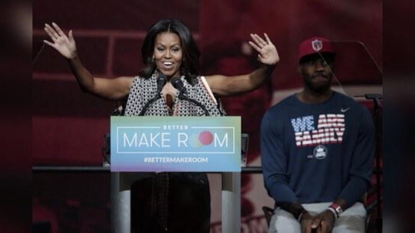 Michelle Obama et Lebron James se joignent pour la promotion du vote par anticipation