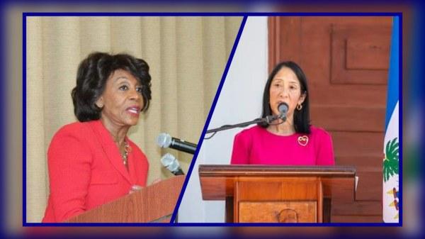 Une députée américaine demande à l'ambassadeur Sison d'éviter qu'Haïti sombre dans le chaos