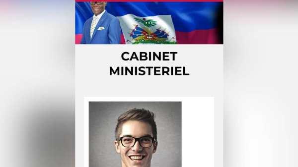 À nouveau en ligne, le site web de la Primature affiche par erreur un autre cabinet.