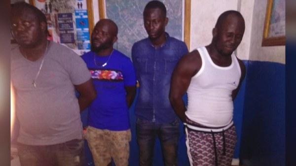 4 présumés bandits de la base 5 secondes arrêtés dans le Sud