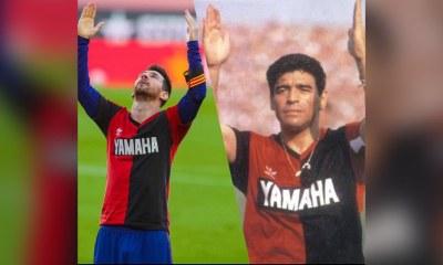 Leo Messi sanctionné pour avoir rendu hommage à Maradona