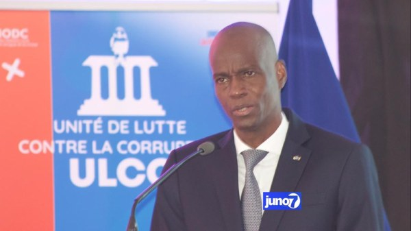 Jovenel Moïse attend de l'ULCC un combat sans merci contre la corruption