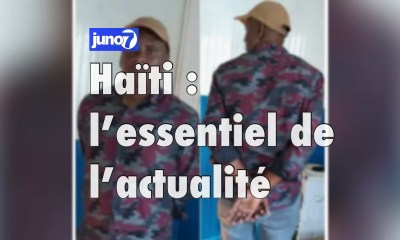 Haiti : L'essentiel de l'actualité du vendredi 22 janvier 2021