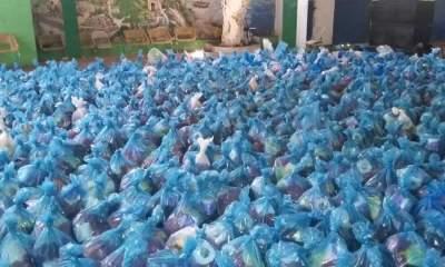 Arcahaie: la Fondation Catherine Flon distribue des kits alimentaires à des nécessiteux