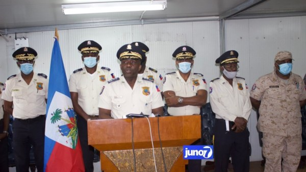 Fêtes de fin d'année: le haut commandement de la PNH s'engage à ramener la sécurité au pays