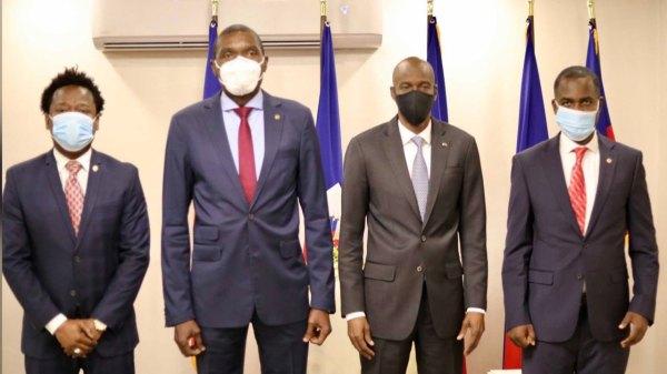 Élections, constitution, fin de mandat, les présidents Jovenel Moïse et Joseph Lambert ont fait le point