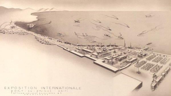 12 février 1950: inauguration de l'Exposition Universelle marquant le Bicentenaire de Port-au-Prince