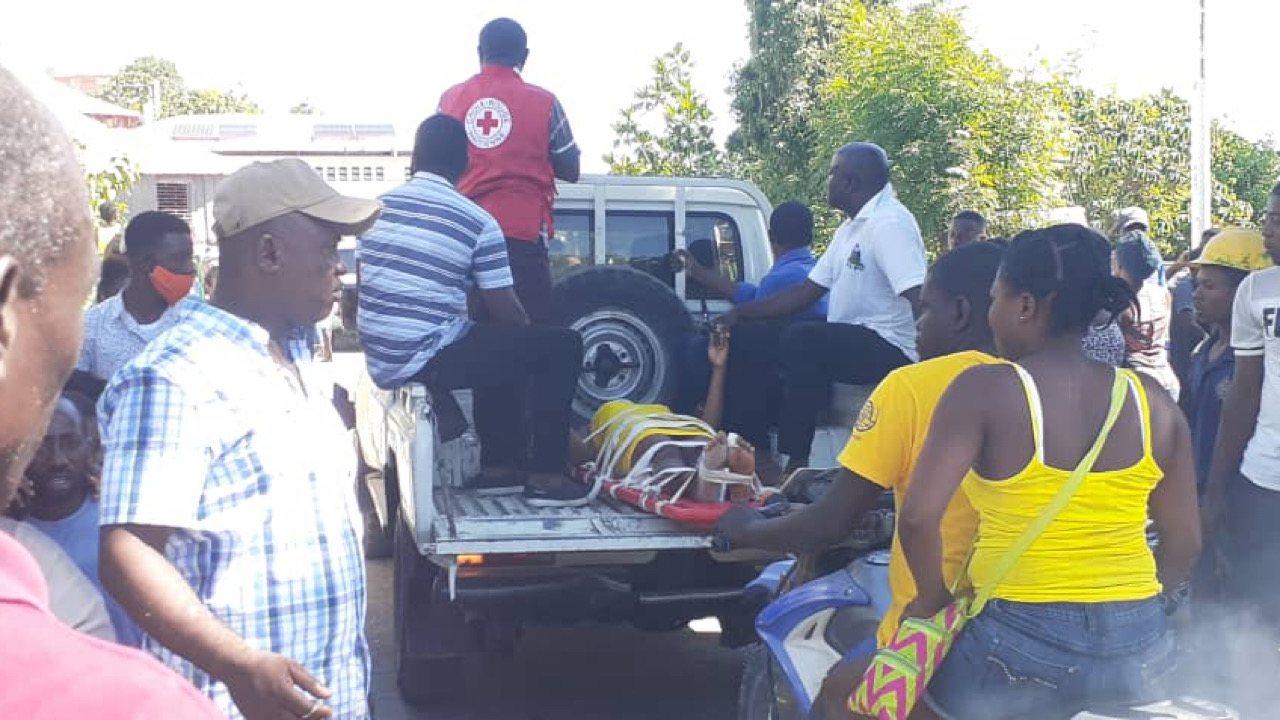 Tremblement de terre du 14 août: Des blessés arrivent en grand nombre à l'hôpital Saint-Antoine de Jérémie