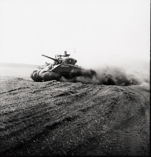 The Sherman Tank : Juno Beach Centre