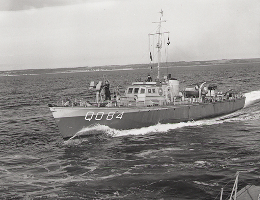 Fairmile Q084, May 1943.