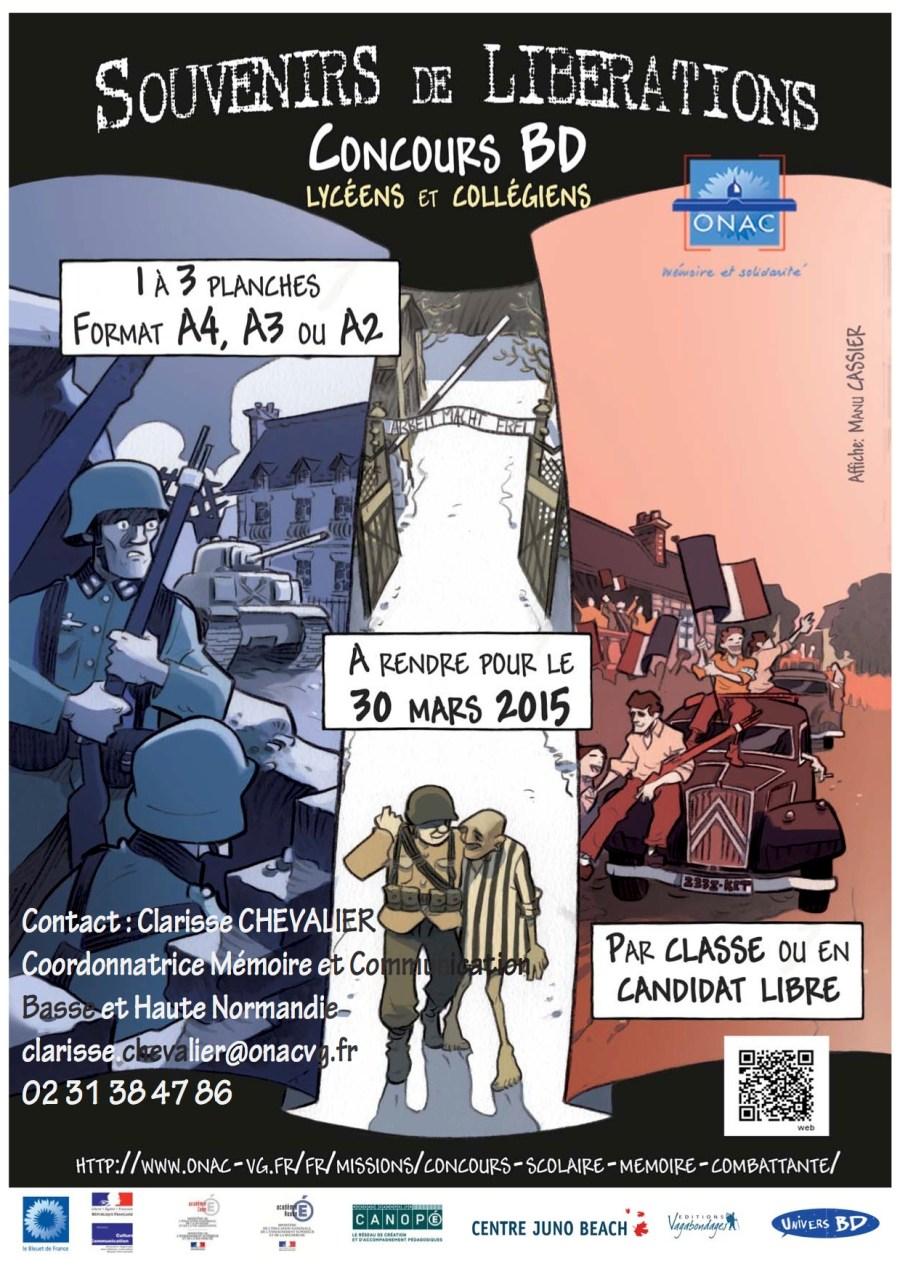 Affiche Souvenirs de Liberations