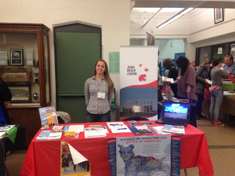Program Coordinator Jen Sguigna at BCSSTA