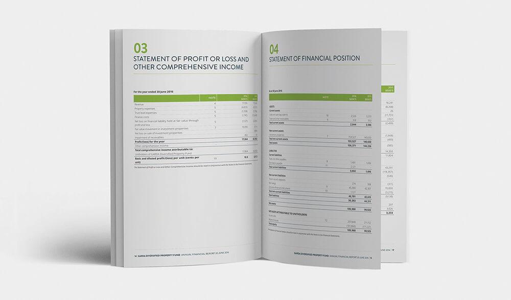 Annual Report Design Melbourne