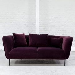Eggplant Sofa Kebo Futon Bed Covers Aubergine Next 3 Seater In Colchester