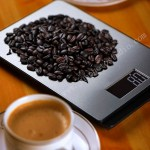scale with coffee life setting product photography China