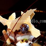 ice cream with chocolate food image China photographer