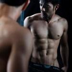 man in the mirror portrait photography Shenzhen