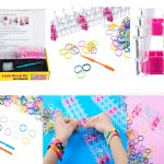 silicone loom bands kids product image for Canton Fair catalog