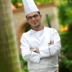 portrait for Chef in Five star hotel Shenzhen