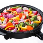 lifestyle photography Shenzhen muti cooker with vegetable
