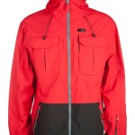 Guangzhou ghost mannequin image men winter jacket red front