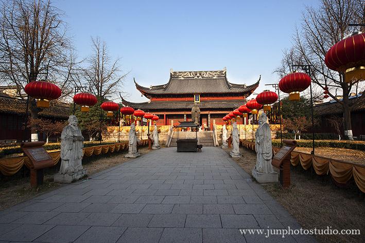 Editorial photographer Confucius temple
